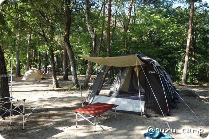 那須野が原公園オートキャンプ場 ウェザーマスター2ルームハウスⅡ