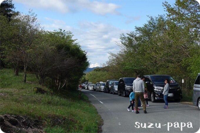 ジャンボリー車渋滞