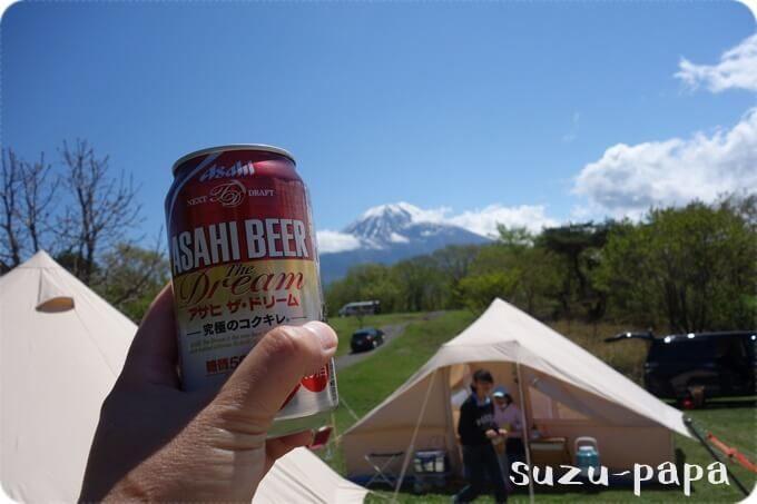 ビールとウトガルドと富士山