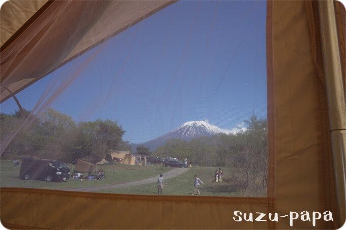 ウトガルドから見る富士山