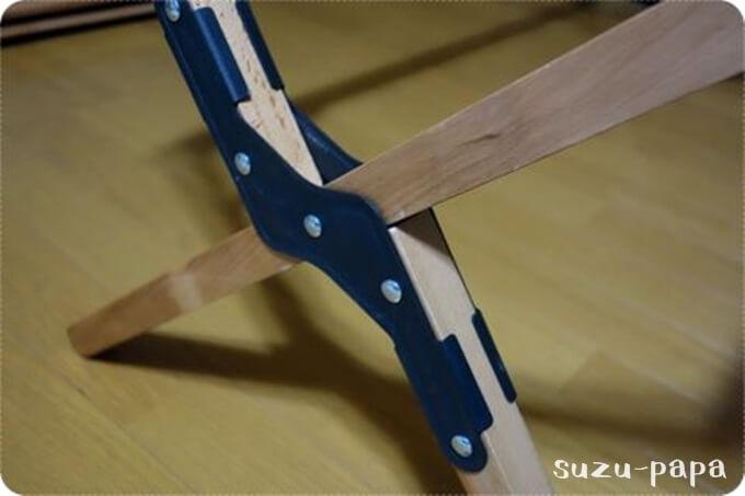 ロールトップテーブル組み立て