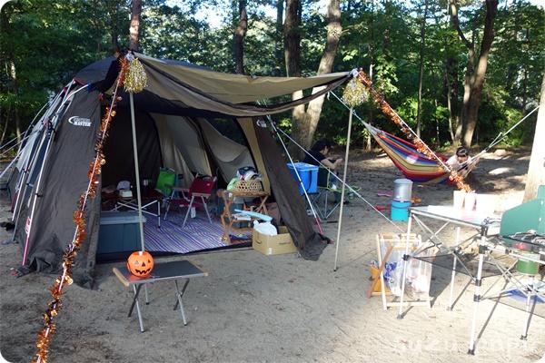 那須野が原公園でキャンプ