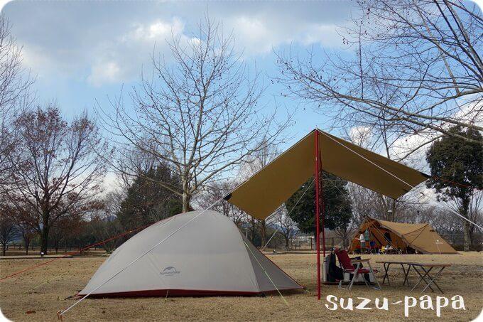 出会いの森でソロキャンプ