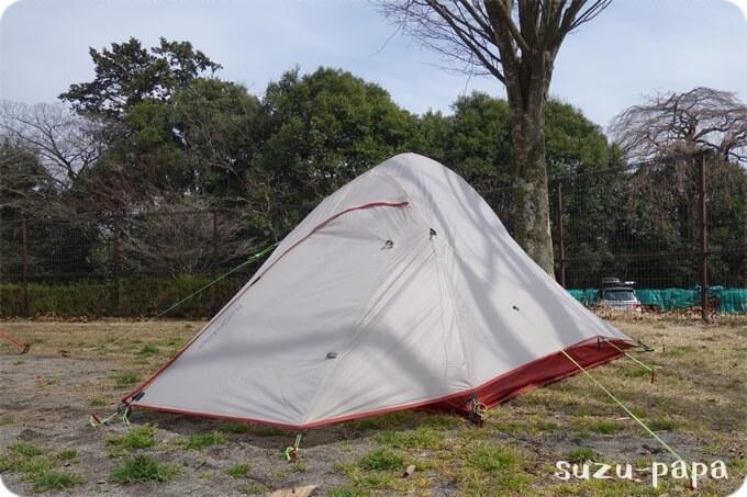 NatureHikeのテント