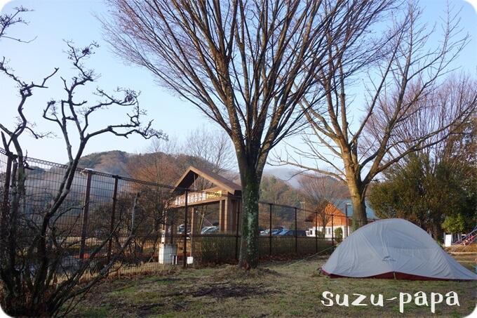 出会いの森とNatureHikeのテント