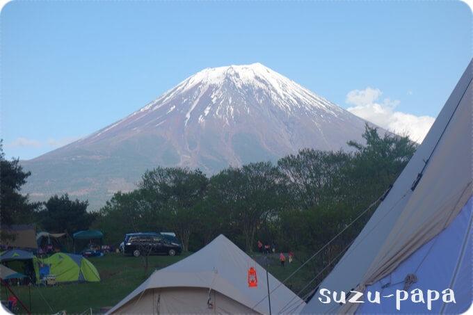 朝霧富士山