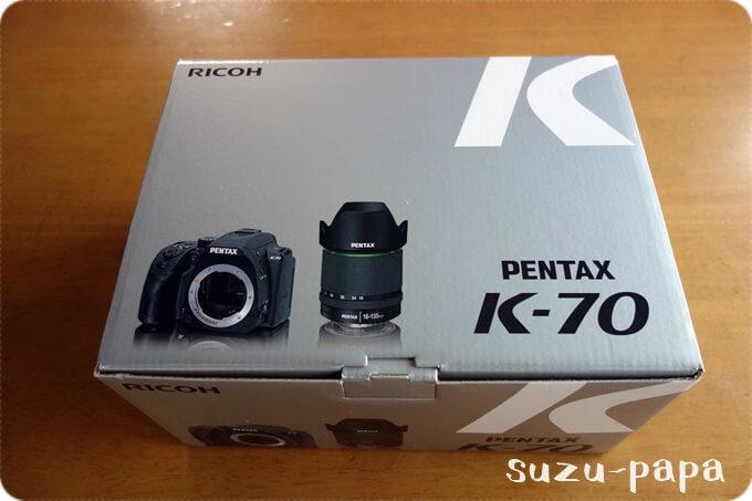 PENTAX K-70 箱