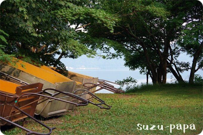 菖蒲ヶ浜キャンプ場リヤカー