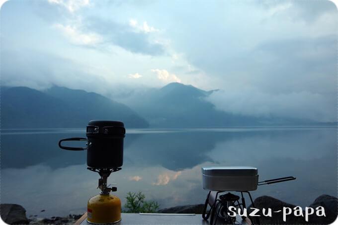中禅寺湖 夕飯