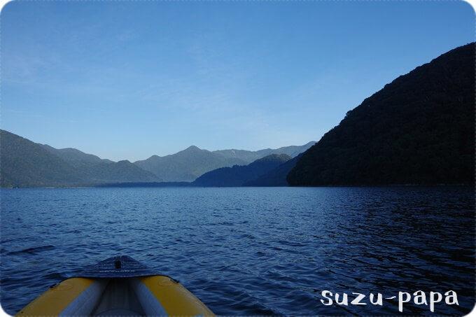 中禅寺湖 カヤック