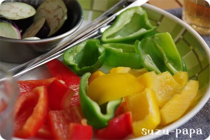 BBQ野菜