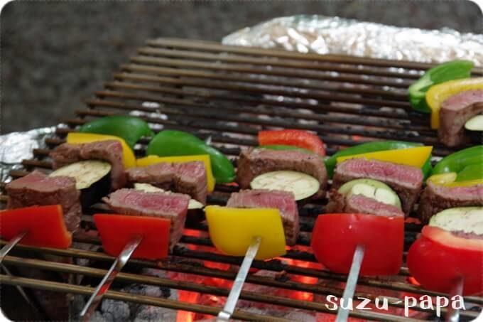 BBQ 串焼き