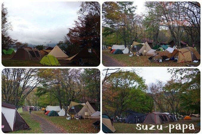 菖蒲ヶ浜キャンプ場 混雑具合