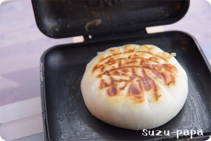 りんちゃん ホットサンド 肉まん