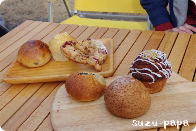 一本杉農園のパン