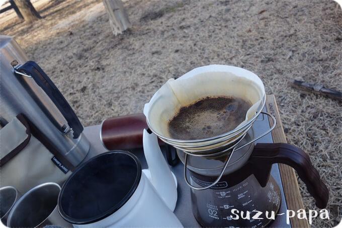 カリタ コーヒーポット ホーロー製 コーヒ-達人