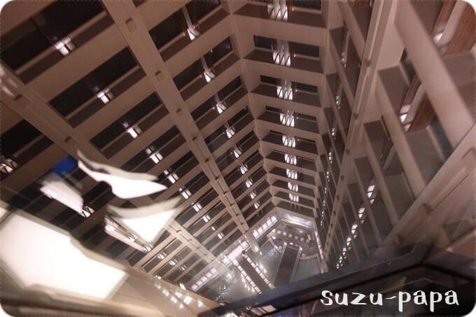 パークタワー東京エレベーター