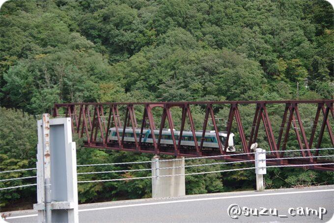 湯西川 鉄橋 リバティ
