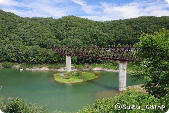 湯西川 鉄橋
