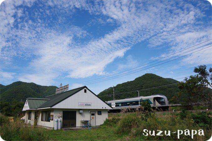 みよりふるさと体験村 Bサイト 電車