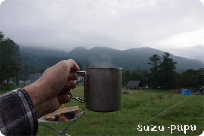 日光湯元キャンプ場 コーヒー