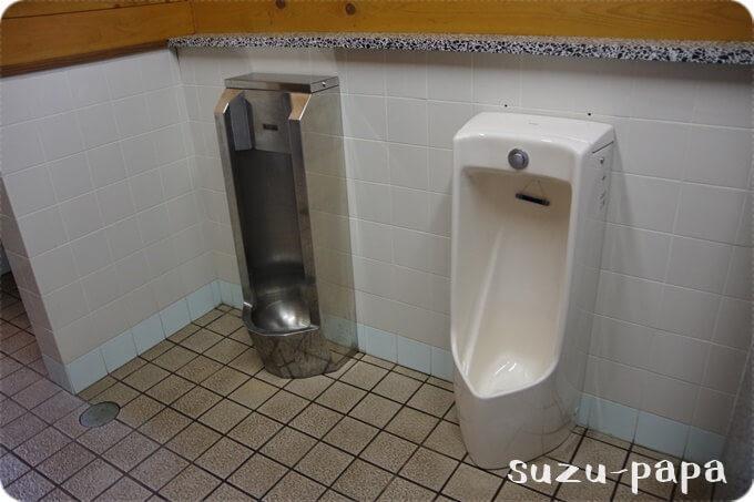 湯元キャンプ場 トイレ