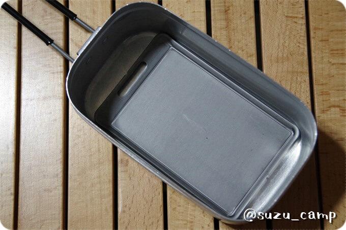 BE-PAL付録 肉厚鉄板mini メスティン