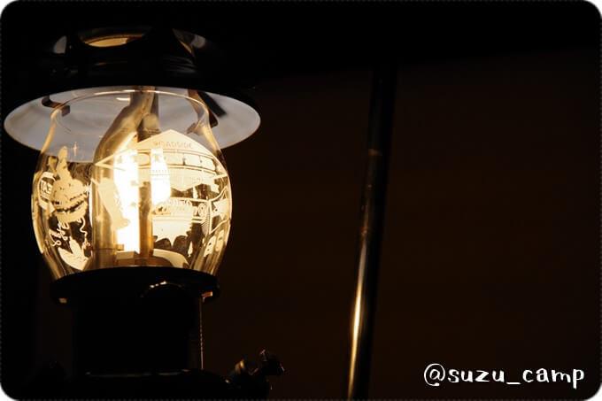 シーズンズランタンの灯り