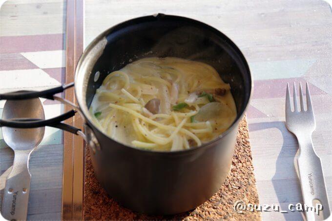 リンちゃんのスープパスタ