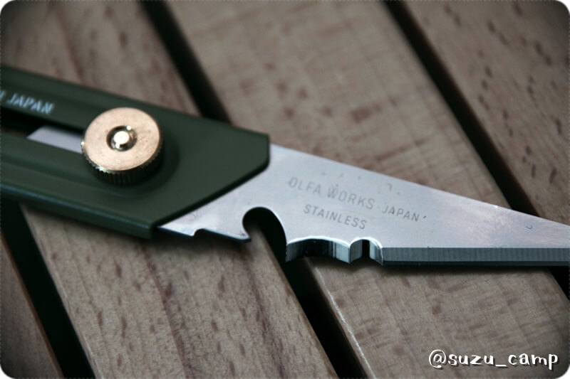 OLFA WORKS ブッシュクラフトナイフ