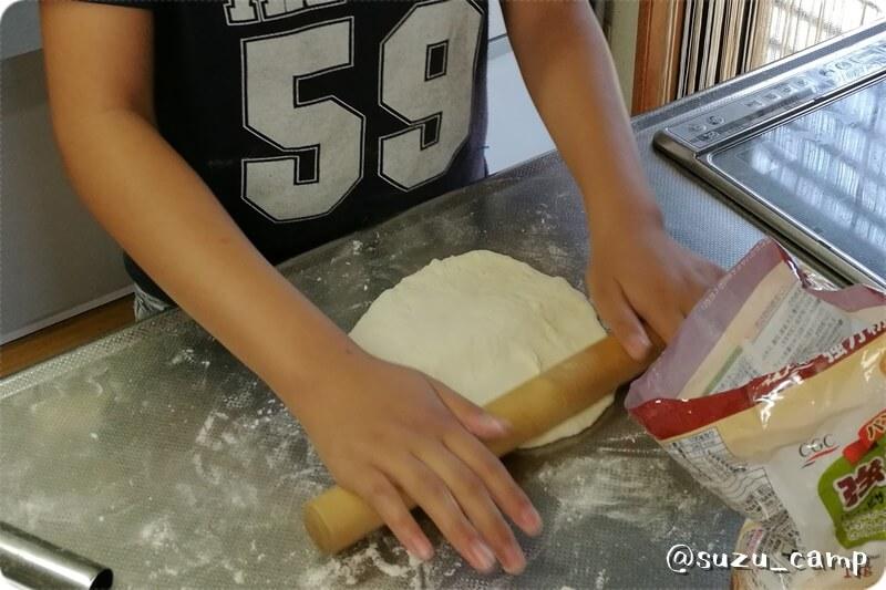 手作りピザ