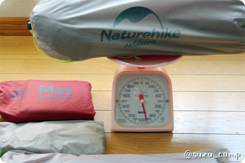 Naturehike CloudUp2 重量