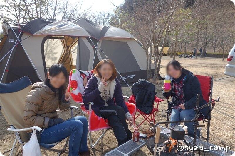 大子グリンヴィラ 越冬キャンプ2015