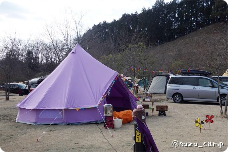 紫 ベルテント