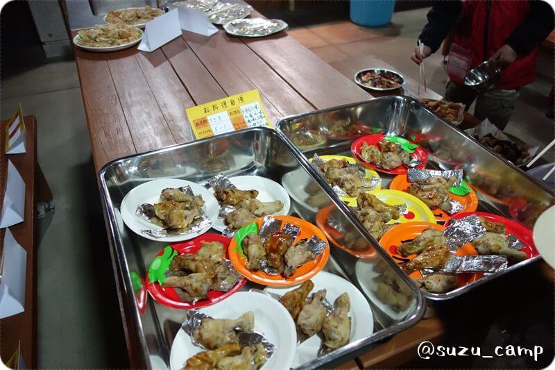 大子グリンヴィラ 越冬キャンプ2015 料理