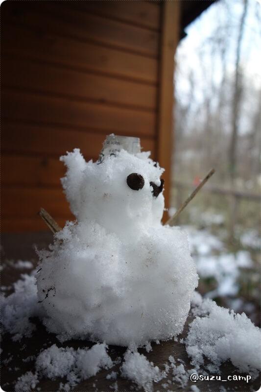 メープル那須 雪だるま