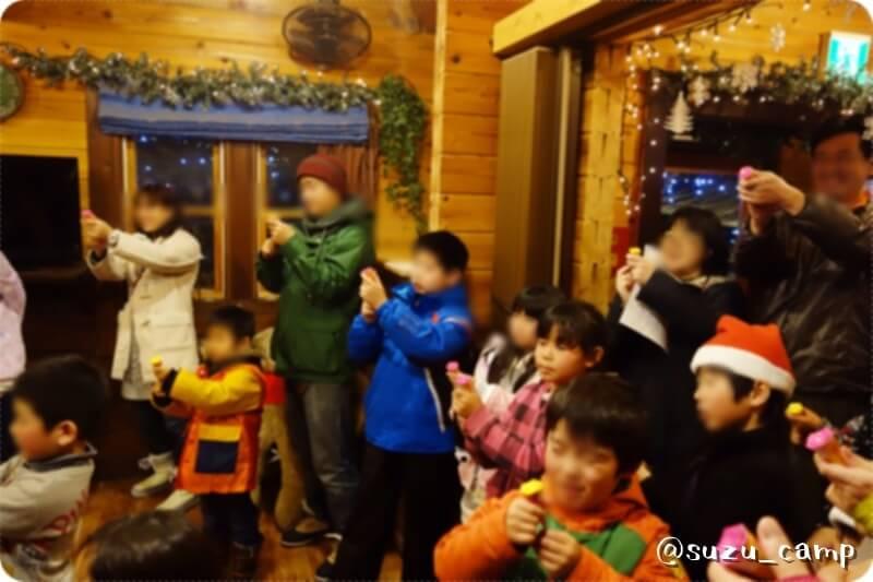 メープル那須高原キャンプグランド クリスマス イベント