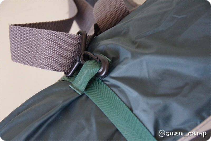 モンベル ムーンライトテント2型収納 肩紐