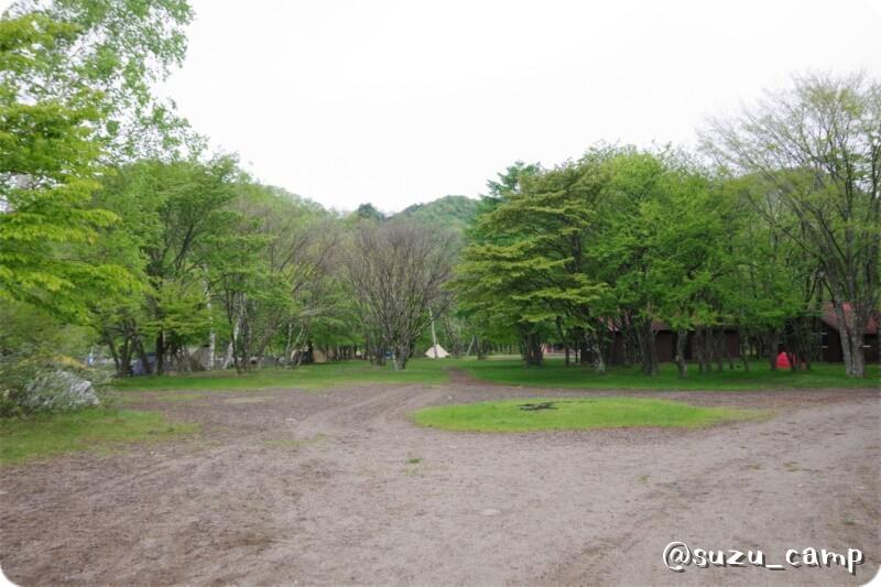 菖蒲ヶ浜キャンプ場 朝