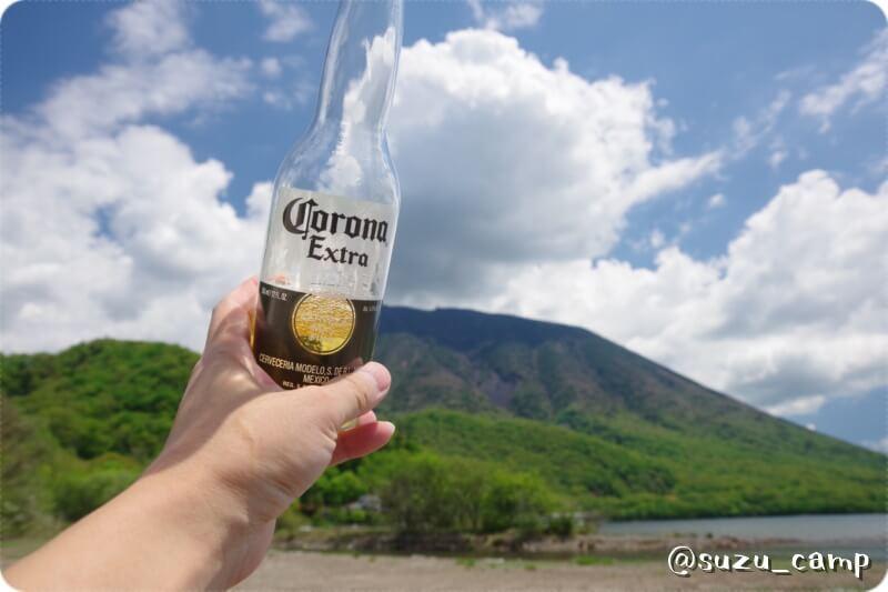 菖蒲ヶ浜キャンプ場 コロナで乾杯
