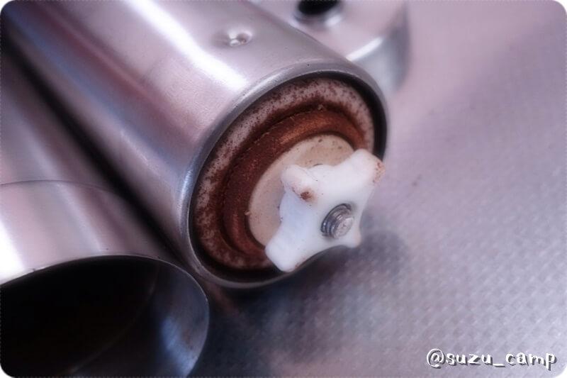ポーレックスセラミックコーヒーミル 洗浄前