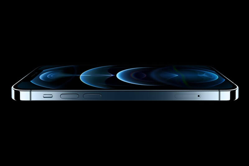 iPhone12 pro max 側面ステンレス