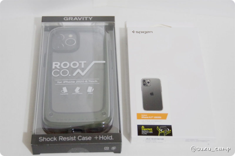 iPhone12promax ケース ROOT CO. GRAVITY Shock Resist Case +Hold.