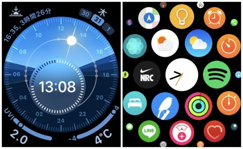 Apple Watch ソーラーダイヤル アプリ一覧