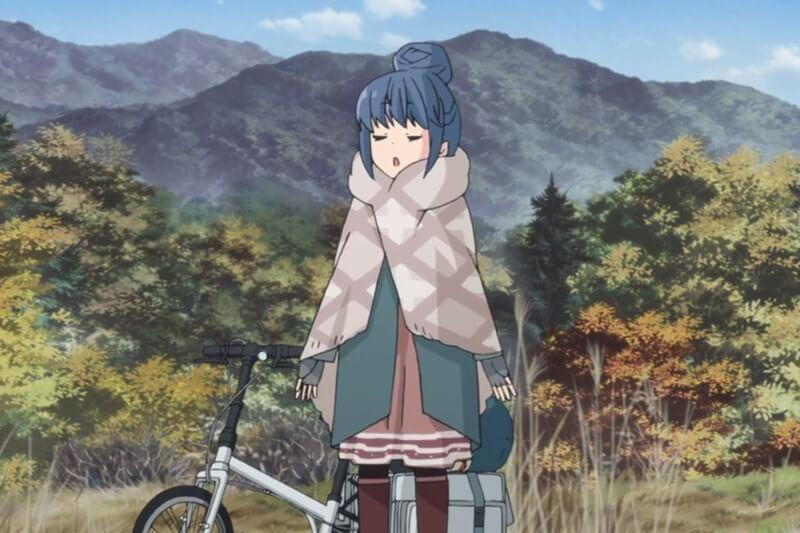 アニメ ゆるキャン△ 志摩リンの自転車