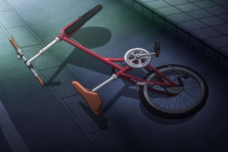アニメ ゆるキャン△ なでしこの自転車