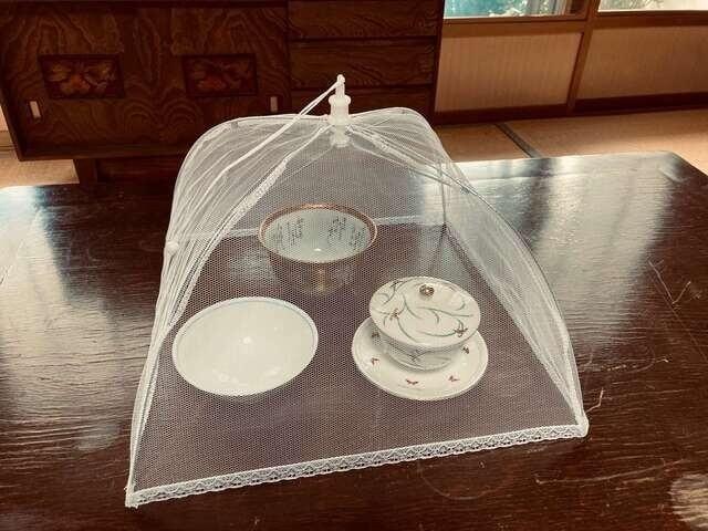 テント型フードカバー マクアケ 蝿帳