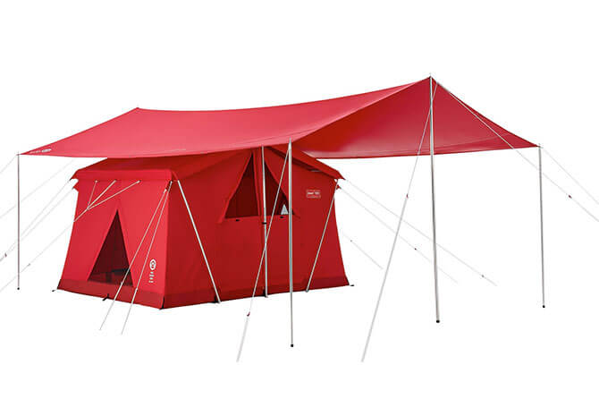 120th アニバーサリー テント&タープセット