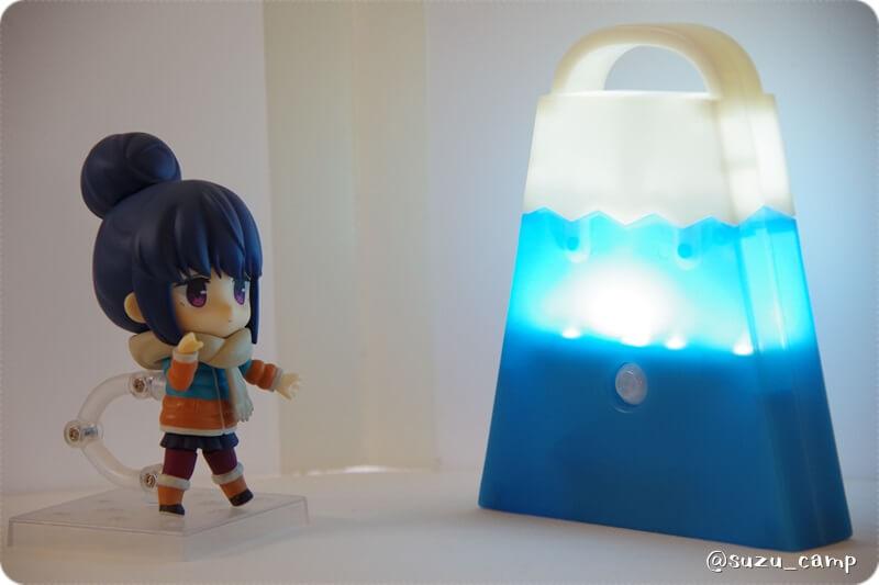 BE-PAL 2021年3月号 富士山LEDランタン りんちゃんと点灯