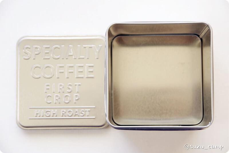 FUSION ST-330 セリア コーヒー缶